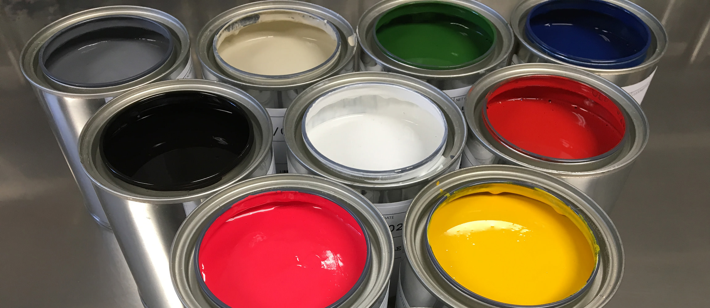 Scroller Open Paint Cans